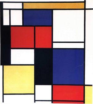 Abstract Werk Van Mondriaan Maashorst Ondernemers
