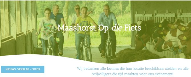 Maashorst Op die Fiets