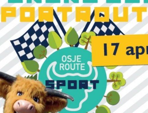 Alle kinderen welkom bij openingsfeest Osje Sport Route