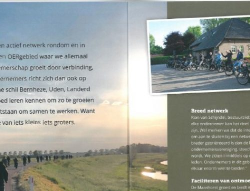 Maashorst Ondernemers in Booming Magazine