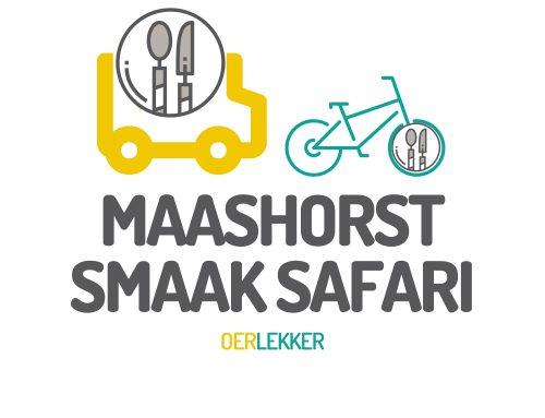 Maashorst Smaak Safari hangt de vlag