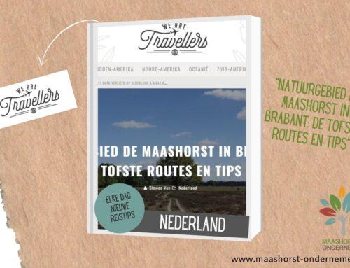 De Maashorst wordt steeds meer gezien…