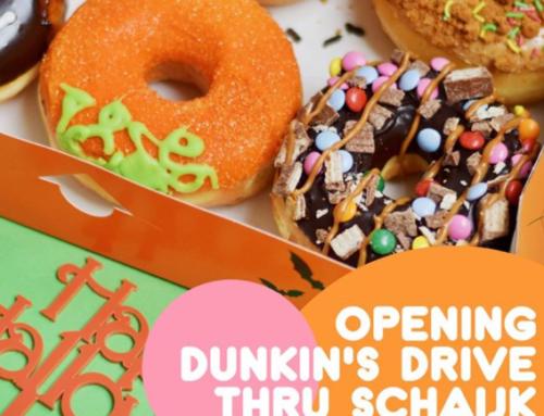 Donuts eten bij collega-ondernemer Roompot Vakantiepark Schaijk