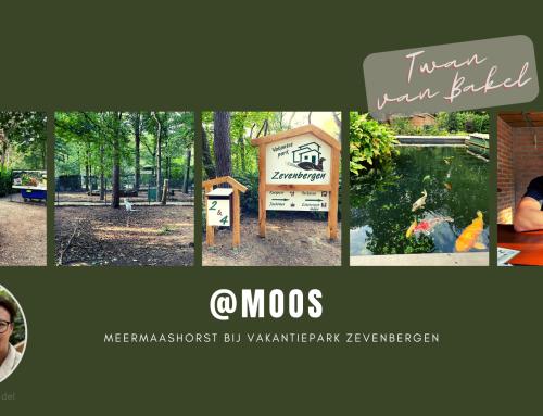 Eerste @MOOS bij Vakantiepark Zevenbergen